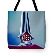 1967 Plymouth Saturn Hood Ornament Tote Bag