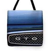 1967 Pontiac Gto Grille Emblem Tote Bag