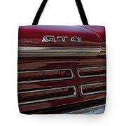 1967 Pontiac Gto Logo Tote Bag