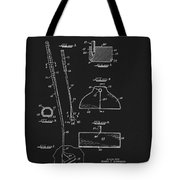 1967 Summers Golf Putter Patent Tote Bag