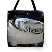 1967 Triumph Gas Tank 2 Tote Bag