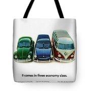 1967 Volkswagen Beetle Squareback And The Box Tote Bag
