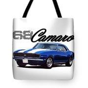 1968 Camaro Tote Bag