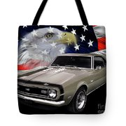 1968 Camaro Ss Tribute Tote Bag