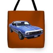1968 Chevrolet Camaro 327 Muscle Car Tote Bag
