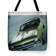1968 Chevy Nova Ss Tote Bag