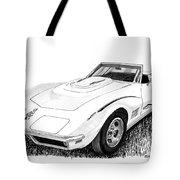 1968 Corvette Tote Bag