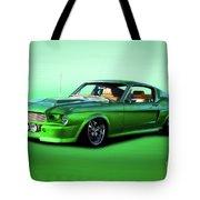 1968 Ford Mustang Fastback II Tote Bag