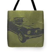 1968 Ford Mustang Tote Bag
