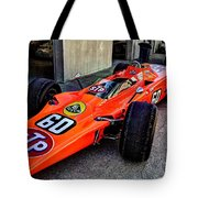 1968 Lotus 56 Turbine Indy Car #60 Angle Tote Bag