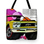 1968 Plymouth Gtx - Adios Tote Bag