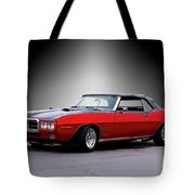 1968 Pontiac Firebird 400 Convertible Tote Bag