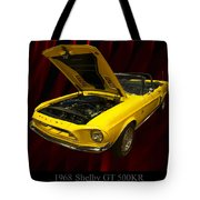 1968 Shelby Gt 500kr Tote Bag