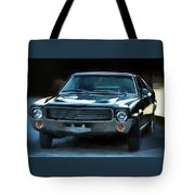 1969 Amx In Racing Green Tote Bag