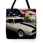 1969 Camaro Rs Tribute Tote Bag