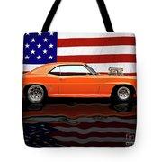 1969 Camaro Tribute Tote Bag