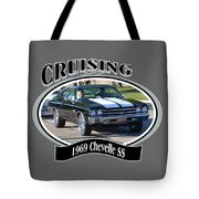 1969 Chevelle Ss Nuckolls Tote Bag