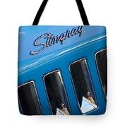1969 Chevrolet Corvette Stingray Emblem Tote Bag