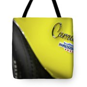 1969 Chevrolet Yenko Camaro Emblem Tote Bag by Ron Pate