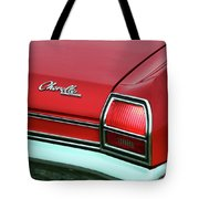 1969 Chevy Chevelle Ss 396 Tote Bag