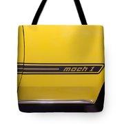 1969 Ford Mustang Mach 1 Logo Tote Bag