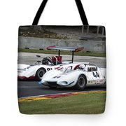 1969 Lola T163 And 1965 Wolverine Road America Tote Bag