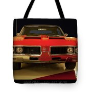 1969 Oldsmobile 442 W-30 Tote Bag