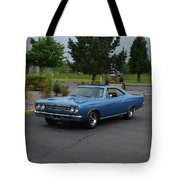 1969 Plymouth Roadrunner Green Tote Bag