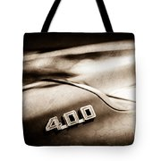 1969 Pontiac 400 Firebird Convertible -1039s Tote Bag