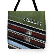 1969 Pontiac Gto Taillight Emblem Tote Bag