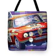 1970 Alfa Romeo Giulia Gt Tote Bag