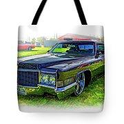 1970 Cadillac Deville - Vignette Tote Bag