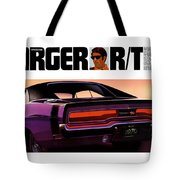 1970 Dodge Charger Rt Tote Bag