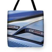 1970 Ford Mustang Gt Mach 1 Hood Tote Bag