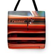 1970 Plymouth Road Runner - Vitamin C Orange Tote Bag