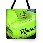 1970 Plymouth Superbird Tote Bag