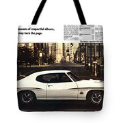 1970 Pontiac Gto The Judge  Tote Bag