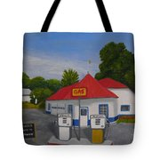1970s Gas Station Tote Bag