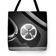1971 Alfa Romeo Side Emblem -1755bw Tote Bag