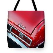 1971 Chevy Nova - Red Tote Bag