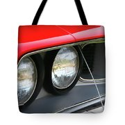 1971 Plymouth Barracuda Cuda Red  Tote Bag