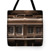 1971 Plymouth 'cuda 440 Tote Bag
