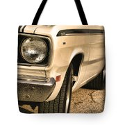1971 Plymouth Duster 340 Four Barrel Tote Bag