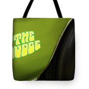 1971 Pontiac Gto Judge Emblem Tote Bag by Ron Pate