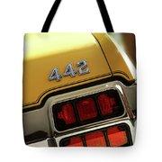 1972 Oldsmobile Cutlass 4-4-2 Tote Bag by Gordon Dean II