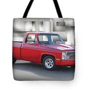 1973 Chevrolet C10 Fleetside Pickup II Tote Bag