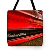 1973 Ford Mustang Mach 1 351 High Performance Tote Bag
