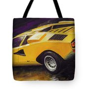 1974 Lamborghini Countach Lp400 Tote Bag