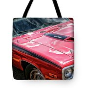 1974 Plymouth Road Runner 340 Tote Bag