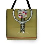 1976 Cadillac Eldorado Convertible Hood Ornament Tote Bag
